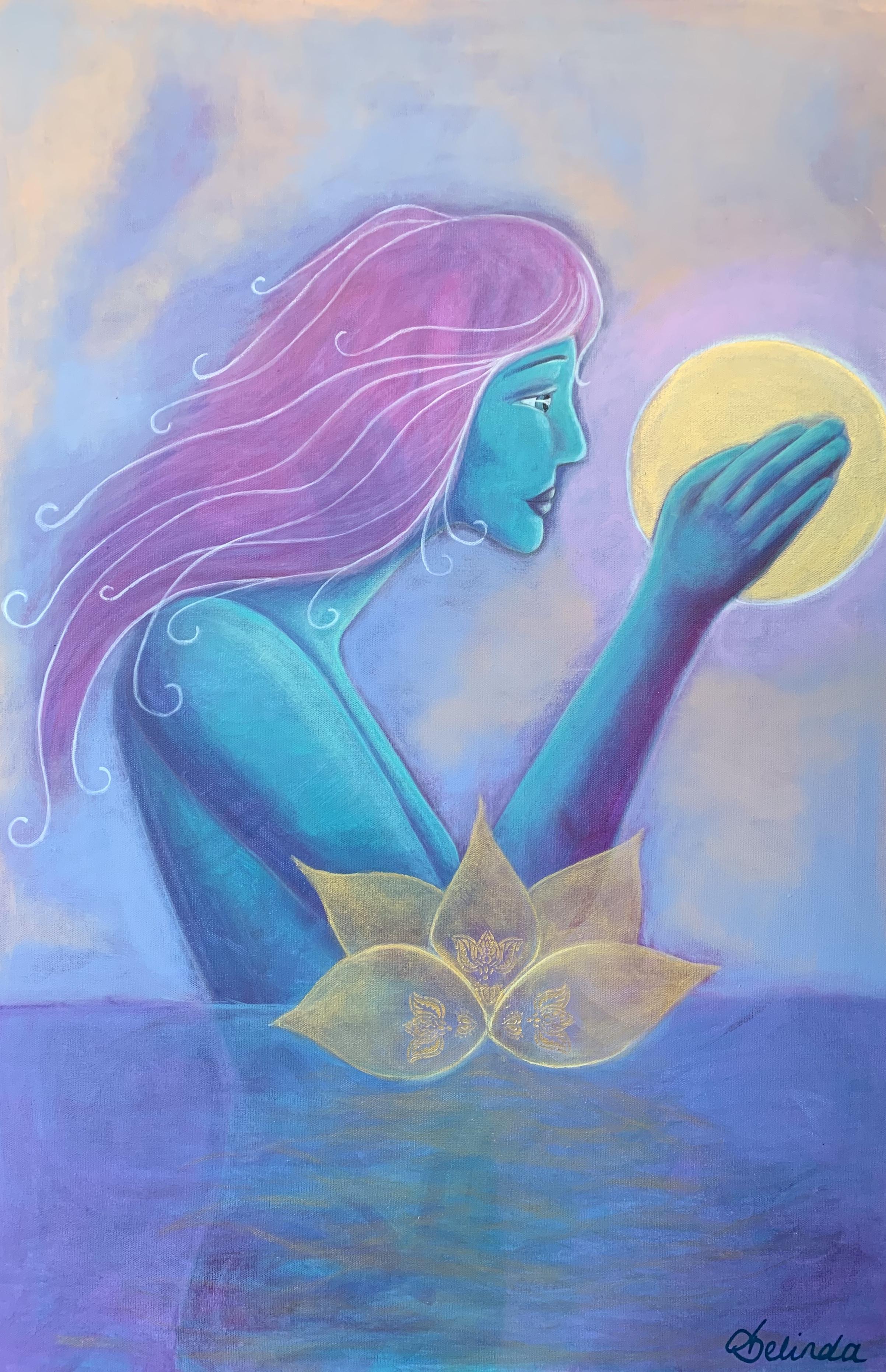 Belinda Chappell Art - Acrylic painting
